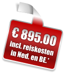 € 895.00 incl. reiskosten in Ned. en BE.*